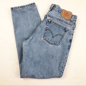 Levi's 550 Relaxed High Waisted Mom Jeans 30